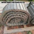 correia de aço inoxidável do convoyer da rede de arame do Grande Muralha