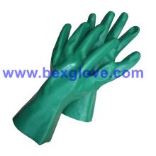Cotton Interlock Liner, Nitrilbeschichtung, Vollarbeitshandschuh