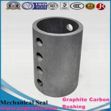 Peças usinadas de grafite e carbono usinadas de carbono de grafite no nível mais alto