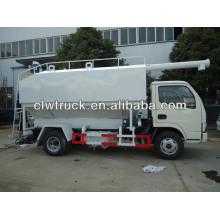 bulk-fodder transportation truck, bulk grain carrier, bulk grain transportation truck, bulk feed transportation truck