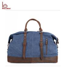 Genuine Leather Gym Duffle Bag Travel Sports Men Vintage Gym Bag