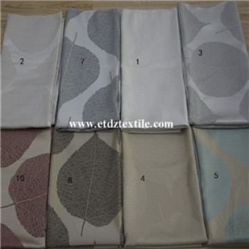 Modern Big Leaf Flower Pattern Of Curtain Fabric