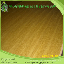 Thickeness 1.8mm 2.3mm 2.7mm 3.6mm 3A or 2A Grde Gloden Yellow Color Ep Teak Fancy Plywood with Cheaper Price