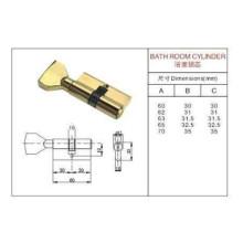 Cilindro padrão com fechadura de porta do botão (CILINDRO DE BANHEIRO)