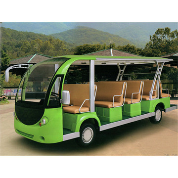 Jinghang gas powered 11 seats shuttle bus