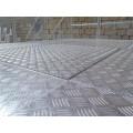 Painéis antiderrapantes de alumínio de favo de mel de tamanho personalizado para piso