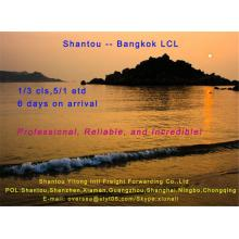 LCL Consolidation Shipping from Shantou to Bangkok