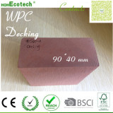 100% waterproof anti-pest eco wood plastic composite wpc decking