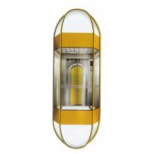 1000kg Elevador panorâmico da forma do diamante com cabine da cápsula (LL-024)