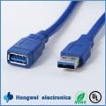 USB 3.0 Kabel ein Stecker zu einem weiblichen Datenerweiterung Kabel