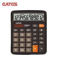 New model big display Solar 12 digit electronic calculator DC-838(S)