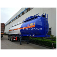 Trailer Tanker Cecair Kimia NH3H2O ​​Stainless Steel