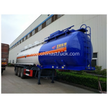 NH3H2O Stainless steel Chemical Liquid Tanker Trailer