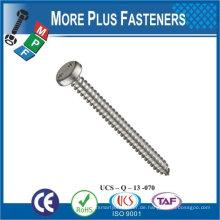 Made in Taiwan Hochwertige Splitter Farbe Maschine Schraube Flachkopf Schraubenschlüssel Schraube