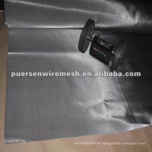 Malla de alambre de acero inoxidable 300mesh 304/316 (filtro de pantalla) de fabricación