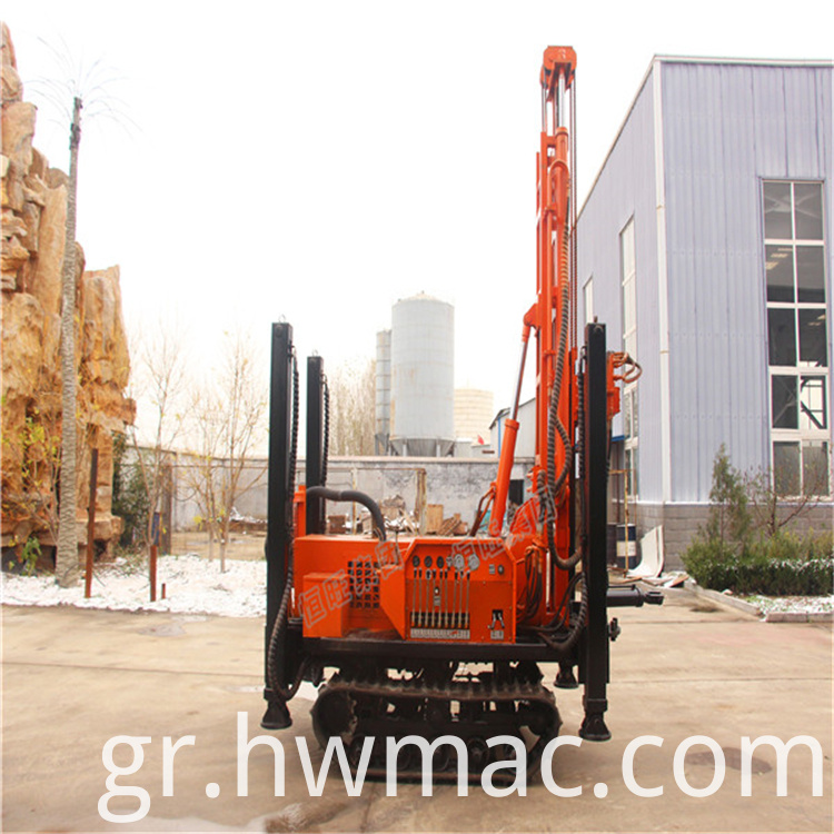 air compressor rock drilling machine