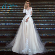 Scoop Empire Fashionable Beautiful Real Wedding Dress