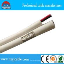 Rg 59 Коаксиальные кабели Белый PVC Rg 59 Коаксиальный кабель Коаксиальный кабель Цена