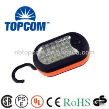 hidden hook portable 24+3 led work light with screw TP-7324-3