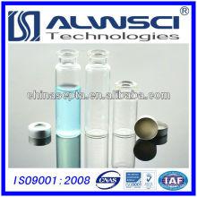 USP Type 1, 20ML Crimp en tête de verre en verre transparent