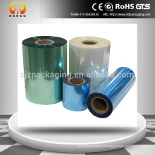 Transparent,Blue,Green color PET /CPP medical packaging Film