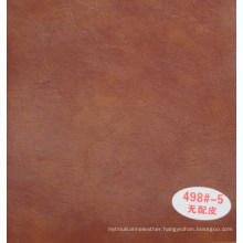 Brown Color PVC Synthetic Leather for Furniture Sofa