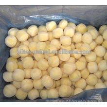 Culture organique IQF prix des petites pommes congelées