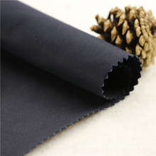 32x32+40D/182x74 200gsm 142cm navy Double cotton stretch twill 2/2S stretch pant fabric dark blue color weave