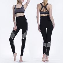 Elegante sportswear personalizado fitness Alta qualidade mulheres yoga calças leggings