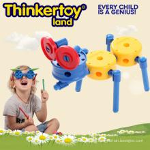 Hormigón en forma de juguete de construcción para niños