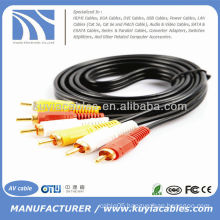 5FT 3RCA Cable 1.5m Male To Male