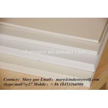 Hoher Dichte extrudierte PVC-Schaum-Brett billigerer Preisverkauf / Schneidebrett / Hersteller der Leiterplatte / uhmwpe Blatt /
