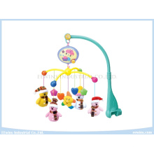 Infant Toys Electric Music Baby Mobiles with Fabric Pendant