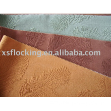 Double flocked fabric