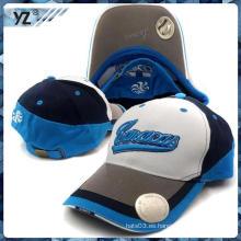 OEM 2015 Alta calidad 3D bordó la gorra de béisbol con el casquillo del abrelista de la botella Sombreros de la manera sombreros
