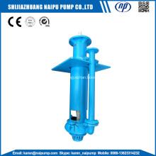 Abrasion resistant metal vertical sump pumps