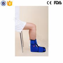 Verletzungen Rehabilitation Therapie heiß kalt Packung für Knöchel oder Fuß