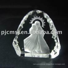2015 heißer Verkauf billig schöne kristall christliche Produkte