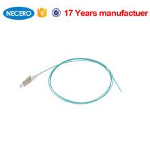 Bom pigtail multimodo da fibra óptica do lc do PC da manutenção programada da matéria prima