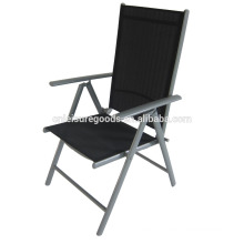 Garden steel 7 positions folding chair