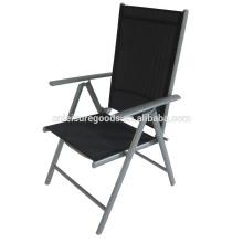 Сад стали 7 позиций складной стул