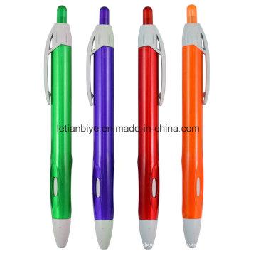 Tranparent Plastic Pen, Promotion Ball Pen (LT-C728)