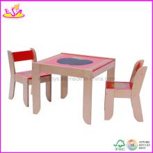 Meubles de jardin d'enfants - Bureau et chaise pour enfants (WO8G091)