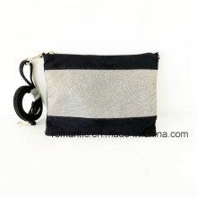 China Supplier Fashion Women PU Suede Handbags em estoque (NMDK-051701)