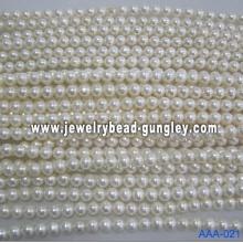 Grado de perla de agua dulce AA 14-14,5 mm