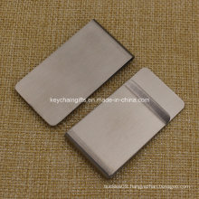 Wholesale Cheap Custom Blank Stainless Steel Money Clip