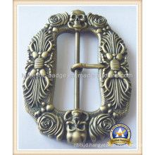 3D Customized Zinc Die Cast built Buckle&Antique Plating
