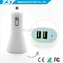 Manufacturer Wholesales Universal USB Car Charger 2 Port for Cell Phone