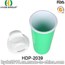 New Customized Colors Plastic Coffee Mug (HDP-2039)