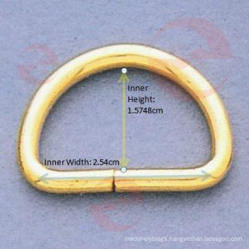 1 Inch D Ring (D1-4S - 10#x2.54x1.5748cm)